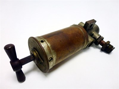 Lot 143-An Early De Dion Bouton Dashboard Oiler