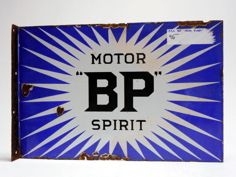 Lot 96-A Rare BP Enamel Sign