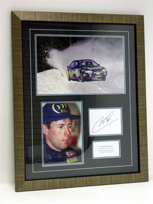 Lot 150-Colin McRae CBE Autograph Presentation (1968 - 2007)
