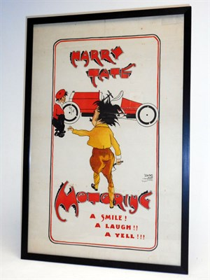 Lot 108-Harry Tate's 'Motoring' Poster