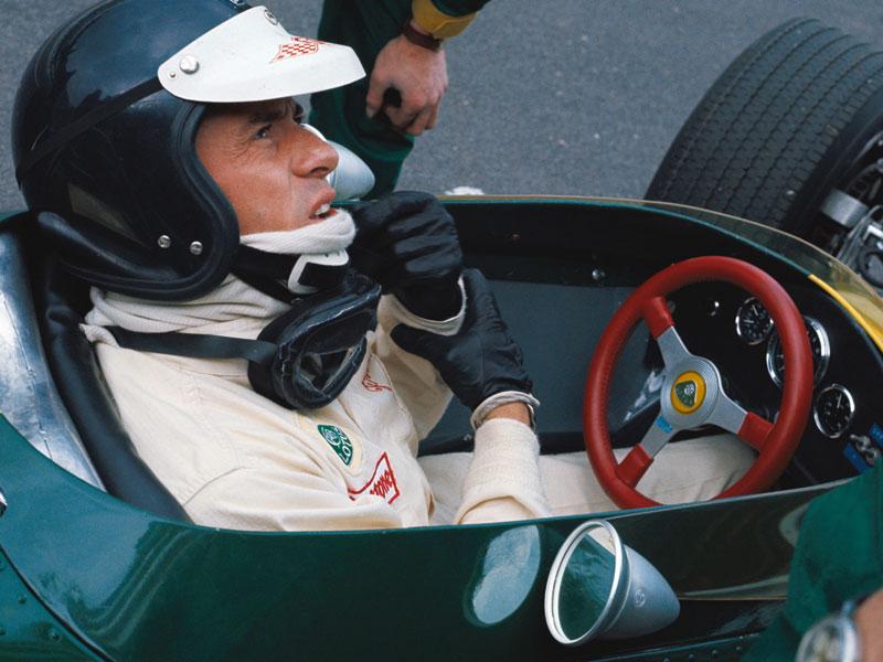 Lot 87-'Jim Clark in the Lotus 49'
