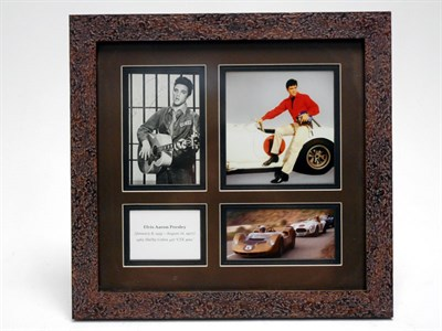 Lot 170-Elvis Presley 1965 Shelby Cobra 427 S/C Signed Presentation