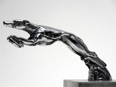 Lot 7-AC Cars 'Greyhound of the Road' Mascot