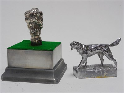 Lot 135-Two Dog Accessory Mascots