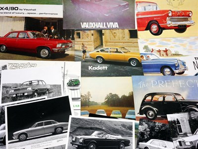 Lot 177-Assorted Sales Brochures and Press Photographs