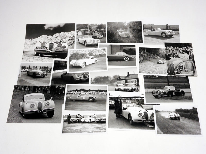 Lot 29-Quantity of Jaguar Photographs