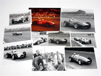 Lot 120-Period Photographs Depicting Sir Stirling Moss