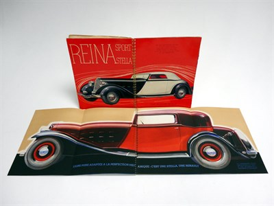 Lot 25-Two Early Renault Sales Brochures