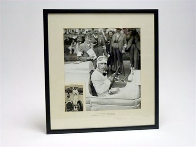 Lot 101-Herman Muller Autograph Presentation (1909 -1975)