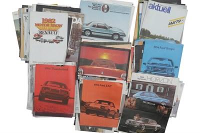 Lot 137-Quantity of Sales Brochures