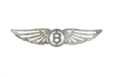Lot 3-A Bentley Wall Plaque