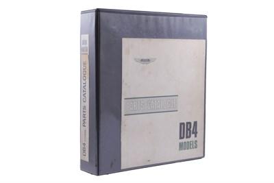 Lot 140-Aston Martin DB4 Parts Catalogue