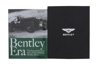 Lot 105-'The Bentley Era' by Nicholas Foulkes, in Presentation Box