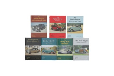 Lot 126-Seven Rolls-Royce / Bentley Books