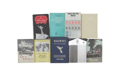 Lot 111-Nine Rolls-Royce Books