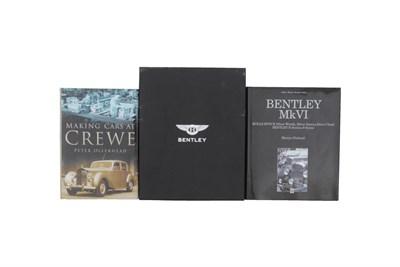 Lot 118-Bentley Literature