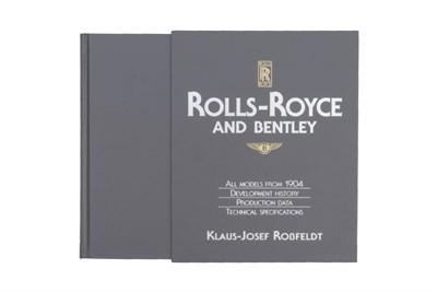 Lot 154-Rolls-Royce & Bentley' by Rossfeldt