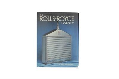 Lot 2 - 'The Rolls-Royce Twenty'