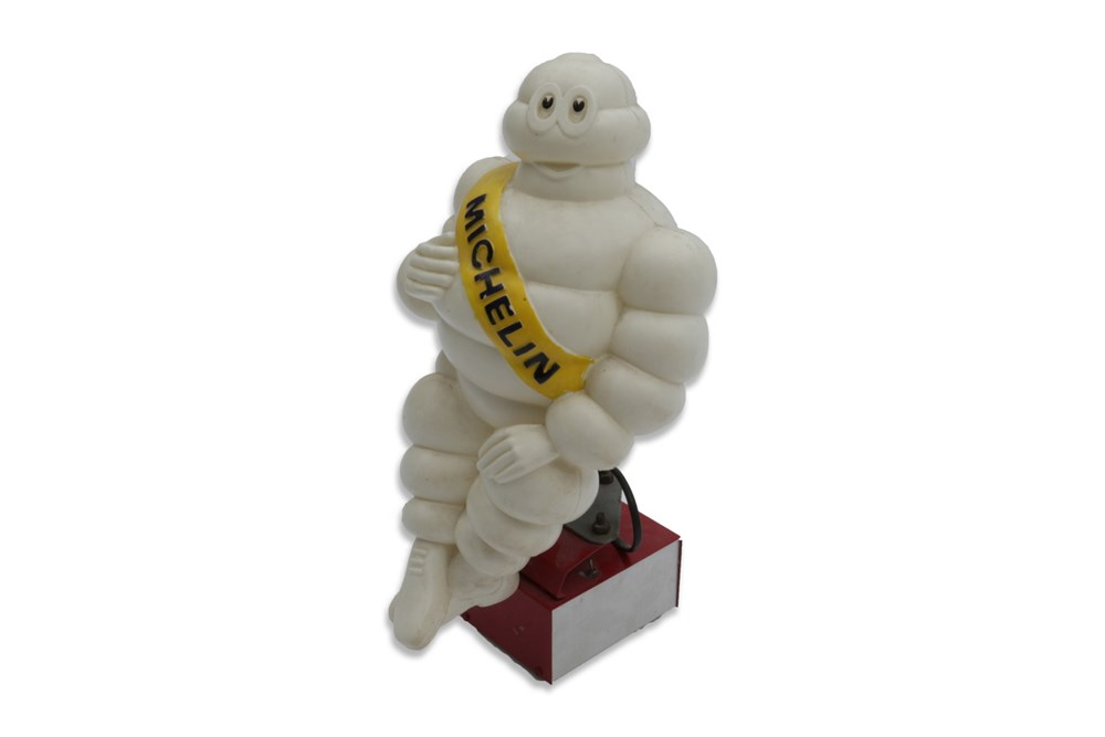 Lot 36-An Illuminated Michelin Tyres 'Monsieur Bibendum' Figurine