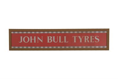 Lot 160-An Original John Bull Tyres Poster