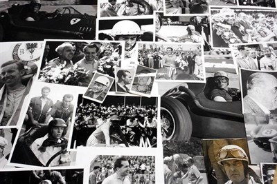 Lot 167-Quantity of Ferrari Photographs