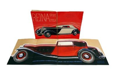 Lot 169-Two Early Renault Sales Brochures