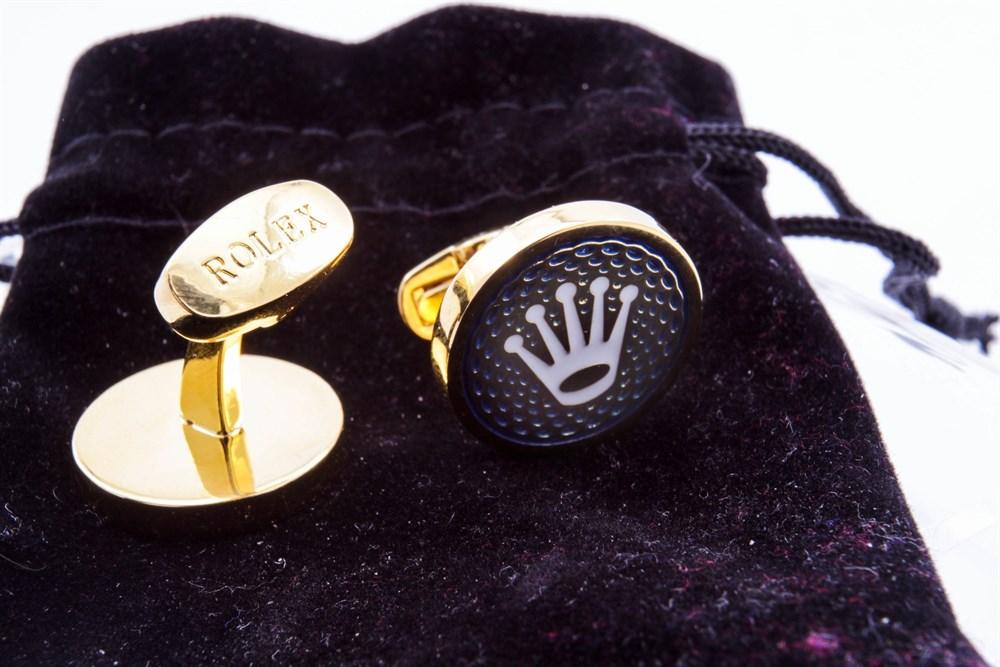 Lot 83-A Pair of Deluxe Rolex Cufflinks