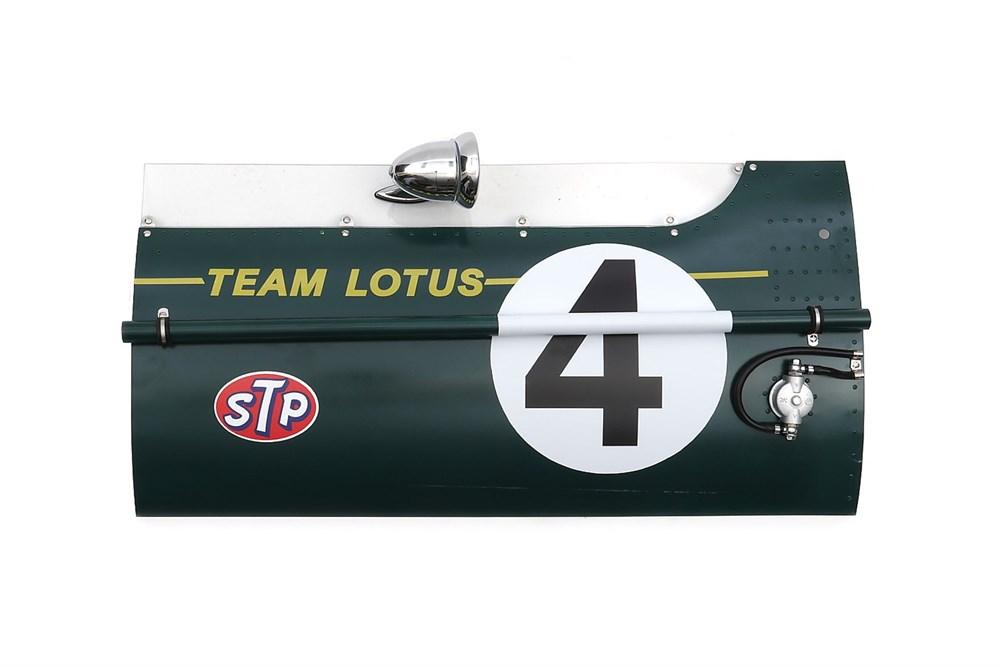 Lot 34-Jim Clark Lotus 49 Cockpit Panel