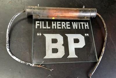 Lot 55 - A Rare BP Illuminated Sign, 1930s
