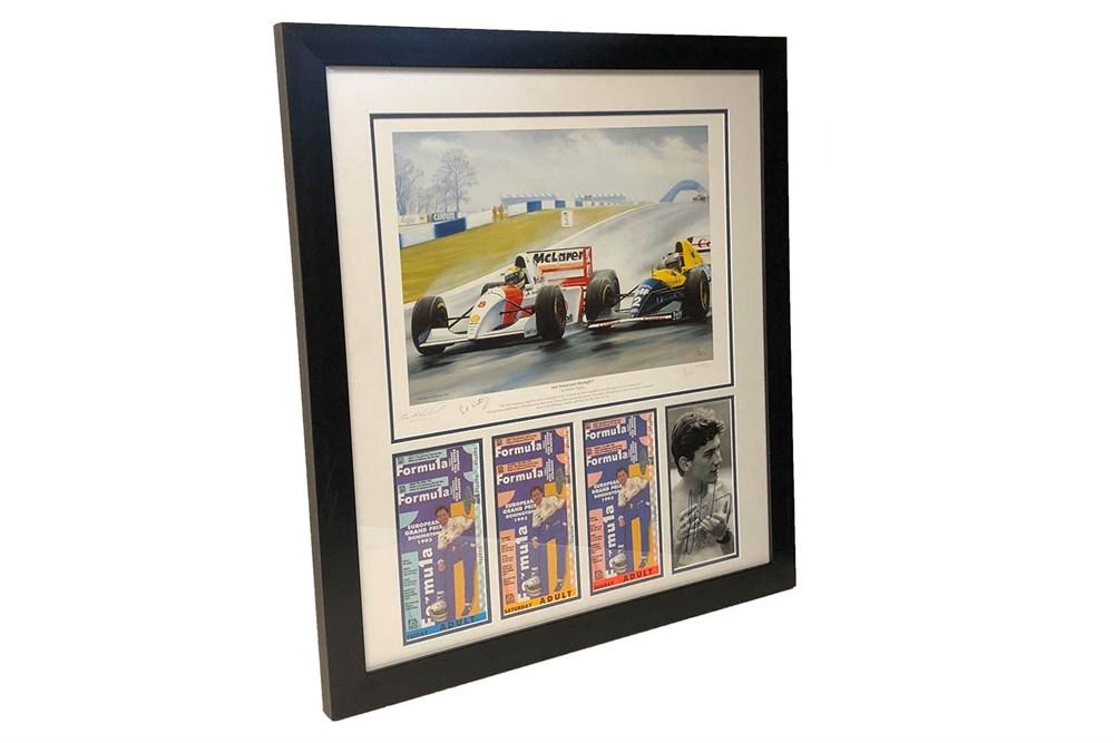 Lot 21-A Tribute to Ayrton Senna (1960 - 1994)