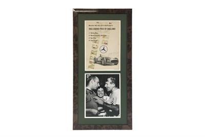 Lot 108-1955 British Grand Prix Poster (Signed)