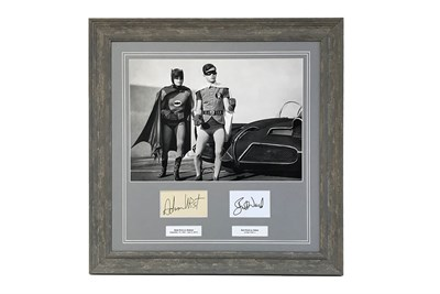 Lot 151-'Quick Robin, to the Batmobile!' Autograph Presentation