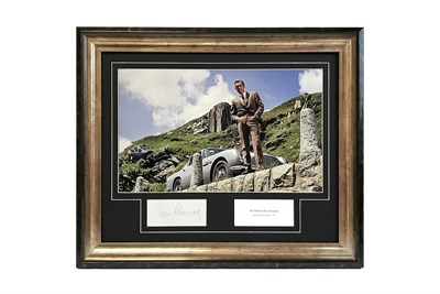 Lot 23-Sean Connery as James Bond Autograph Presentation