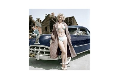 Lot 68-'Marilyn Monroe and the Pontiac'