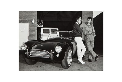 Lot 131-'Shelby, McQueen and the Cobra'