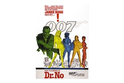 Lot 172-James Bond 'Dr No' Movie Poster