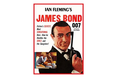 Lot 10-A Sean Connery / James Bond Poster