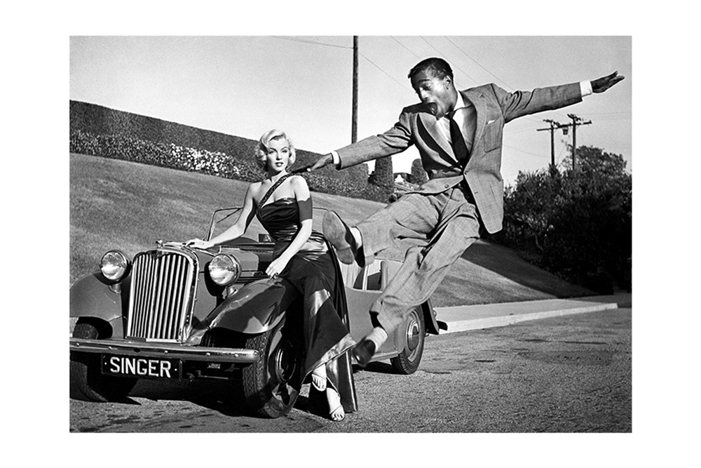 Lot 7-'Marilyn and Sammy, 1953'