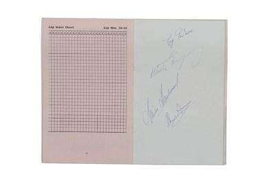 Lot 53 - 1963 British Grand Prix Programme (Signed)