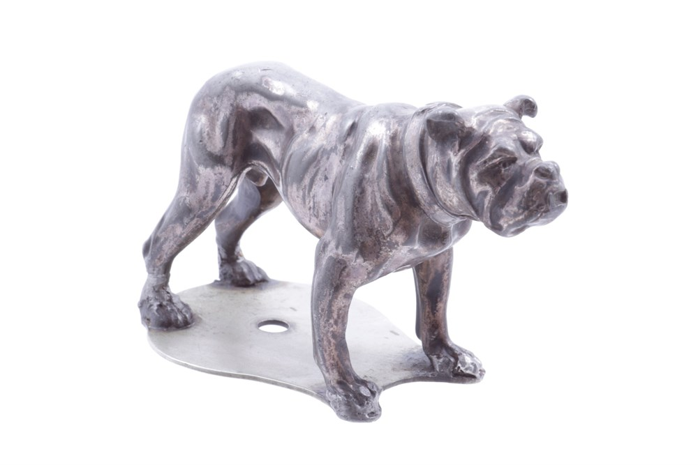 Lot 1-A British Bulldog Accessory Mascot