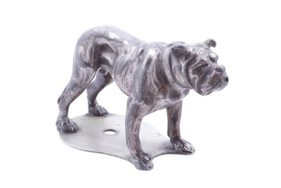 Lot 1-A British Bulldog Accessory Mascot