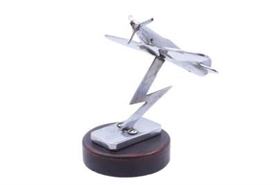 Lot 100-'Spitfire Flying Over a Lightning Bolt' Accessory Mascot