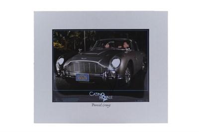 Lot 124-Daniel Craig Signed Photograph