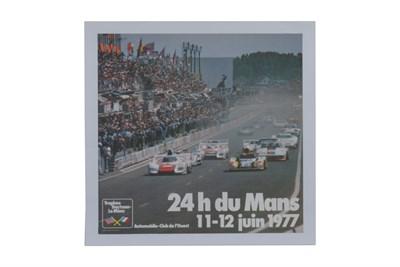 Lot 122-1977 Le Mans Poster
