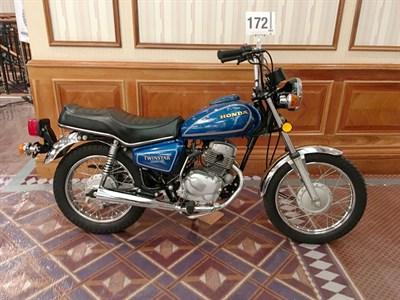 Lot 172-1981 Honda CM200T Twinstar