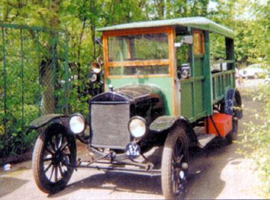 Lot 5-1920 Ford Model T Depot Hack