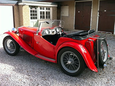Lot 3-1949 MG TC