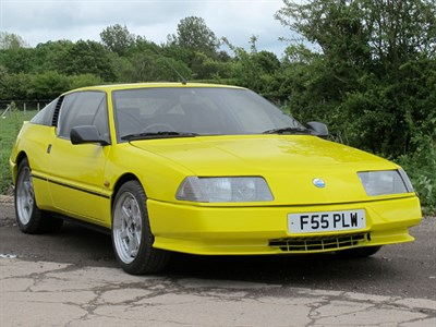Lot 12-1989 Renault GTA V6 Turbo