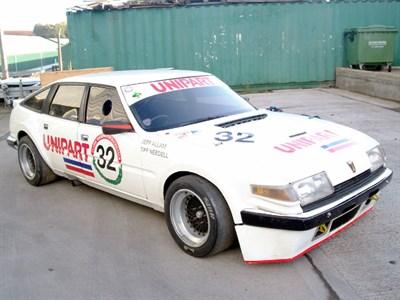 Lot 40-1980 Rover SD1 V8S Group 2 Race Car