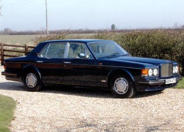 Lot 79-1991 Bentley Turbo R
